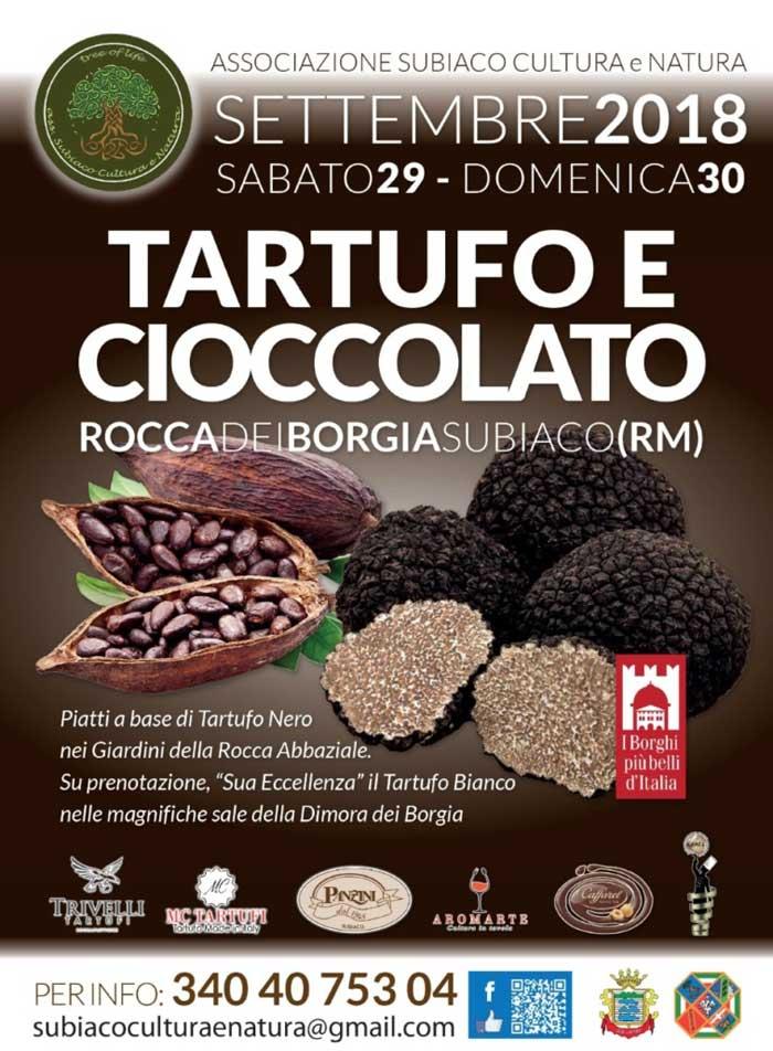 Subiaco Tartufo e Cioccolato Locandina