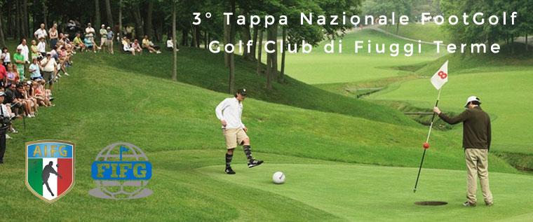 3° Tappa nazionale di FootGolf – Golf Club di Fiuggi Terme