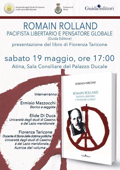 Taricone Romain Rolland Presentazione Libro-locandina