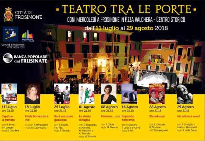 Teatro tra le Porte Frosinone Locandina