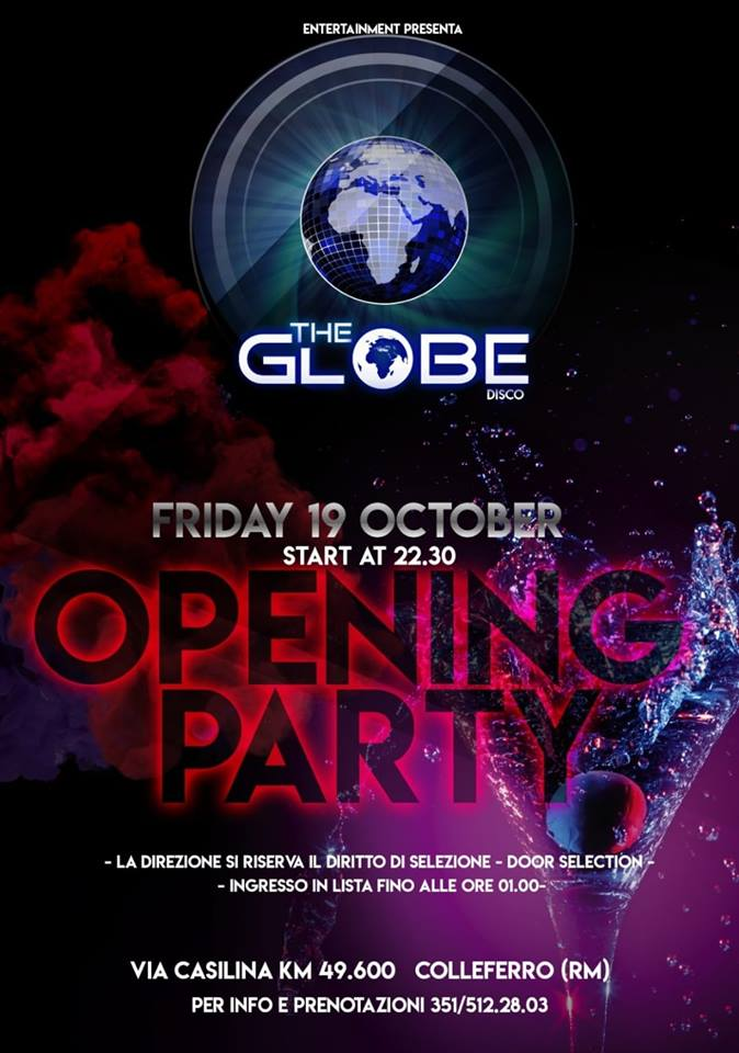 The Globe Colleferro Discoteca