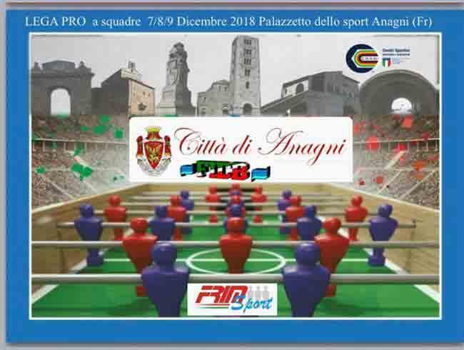 Torneo Calcio Balilla Locandina