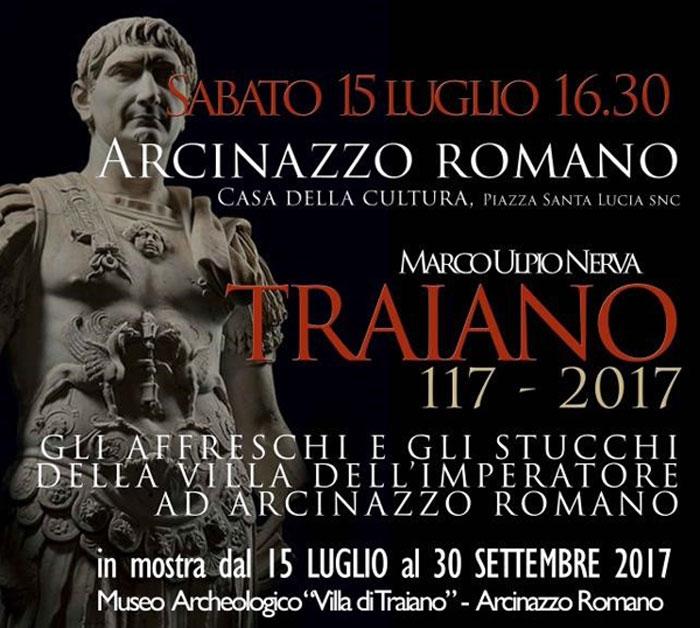 Traiano Mostra Arcinazzo
