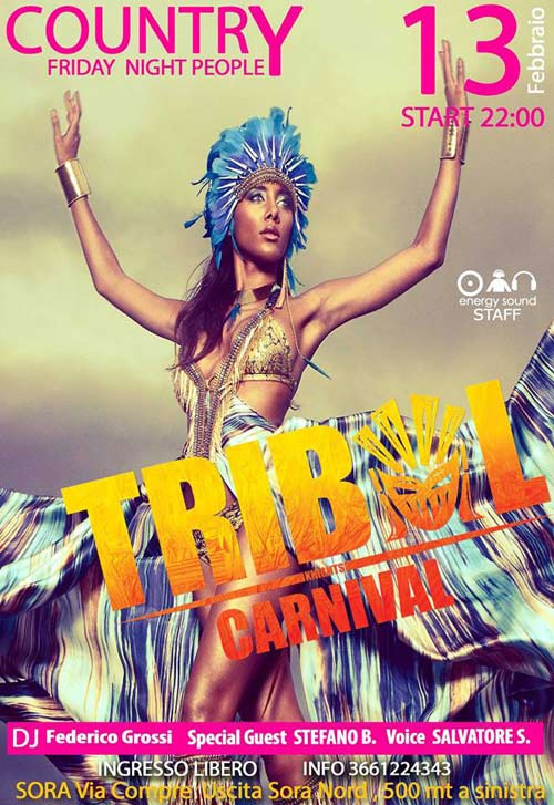 Tribal Carnival Country