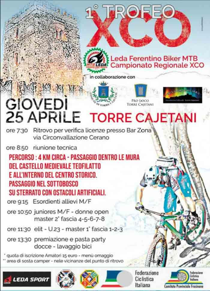 trofeo xco Torre Cajetani