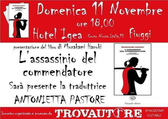 Trovautore 11 Novembre Locandina