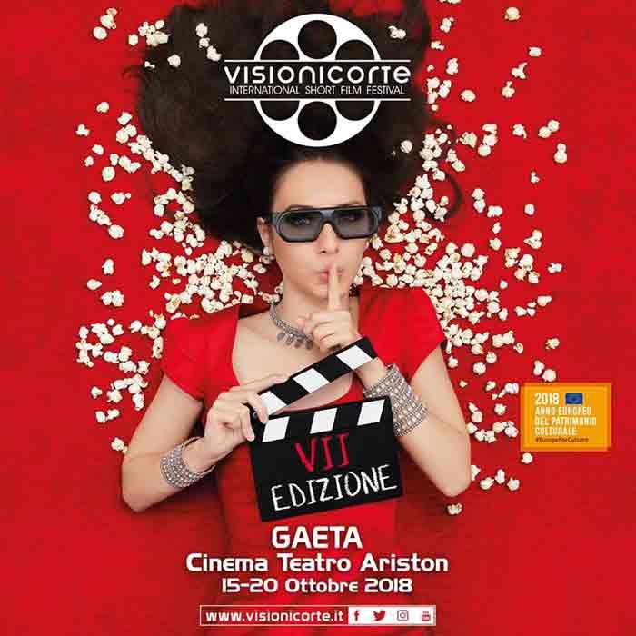 Visioni Corte Film Festival Gaeta Locandina 2018