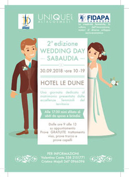 Wedding Day Sabaudia Locandina 2018